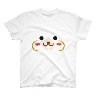 ハムスター-animal up-アニマルアップ- T-shirts