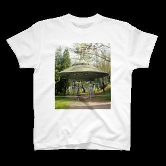 NAZOTOWNの未知との遭遇 Tシャツ