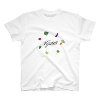 くしくしのvegetable T-shirts