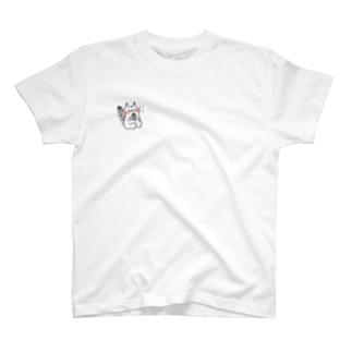 ほお袋リス子 T-shirts