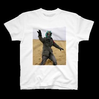 NAZOTOWNの外道ライダーHAL Tシャツ