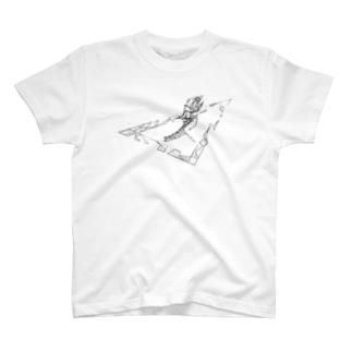 Lizard1(white) T-shirts