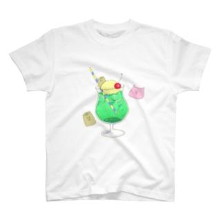 爽やかメロンフロート T-shirts