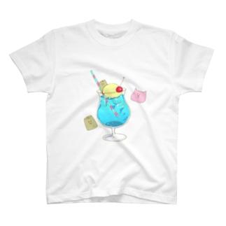 爽やかアイスフロート T-shirts