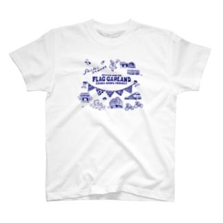 flag garland saiki otemae T-shirts