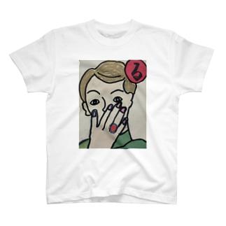 〜る〜 ルビーの指輪きれいだな T-shirts