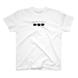 威勢のいいイヌ T-shirts