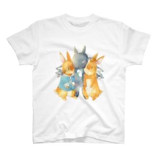 むぷとコヨチとチョコ T-shirts