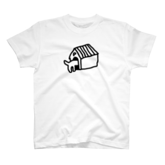 ポチ帰宅 Tシャツ