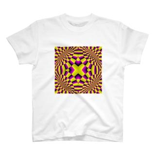 トリックアート1 T-shirts