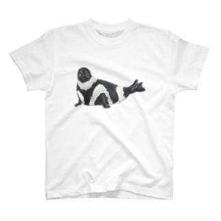 アザラシTシャツ(クラカケアザラシ) T-shirts