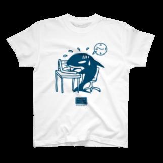 マニアパレルの社畜のシャチくん T-shirts
