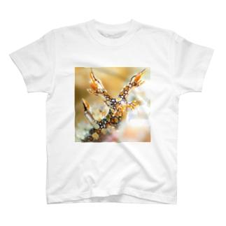 ヒオドシユビウミウシ T-shirts