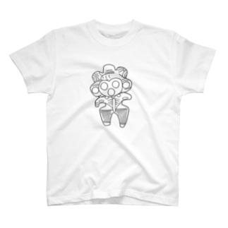 みみずく土偶シャツ T-shirts