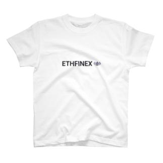 暗号資産【仮想通貨】グッズ(Tシャツ)専門店の仮想通貨取引所 ETHFINEX T-shirts