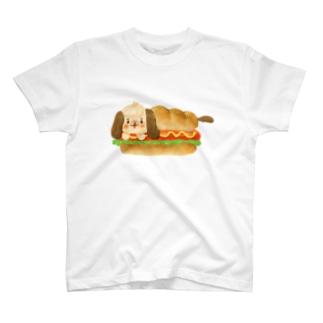 HAPPYMELUMELUのほっとどっぐ T-shirts