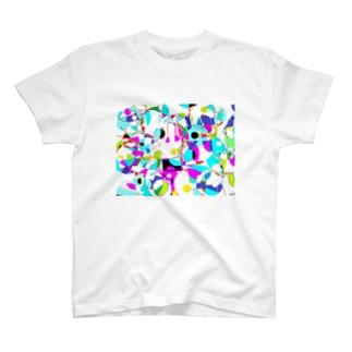 色彩のかけらサマータイム T-Shirt