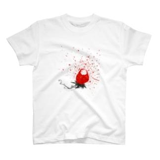 ハジけた〜ストロベリー狂想曲編〜 T-shirts