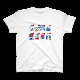 waka-chan かるたの選抜かるた B T-shirts