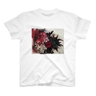 深紅 T-shirts