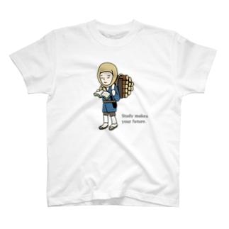 勤勉くん T-shirts