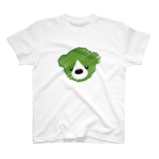 くまさんロゴマーク T-shirts