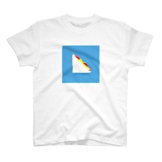 ハムトマトチーズレタス T-shirts