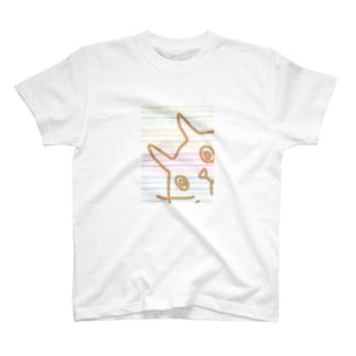 おどろきねこ T-shirts