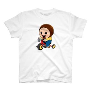しょーちゃん 三輪車 T-shirts