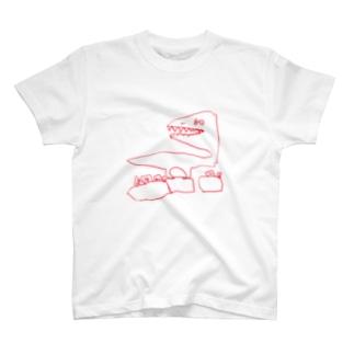 見返りREX T-shirts