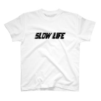 高速スローライフ T-shirts