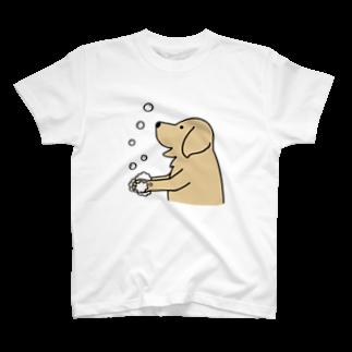 efrinmanのwash hands 2 T-shirts