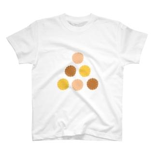 6クッキービスケット T-shirts