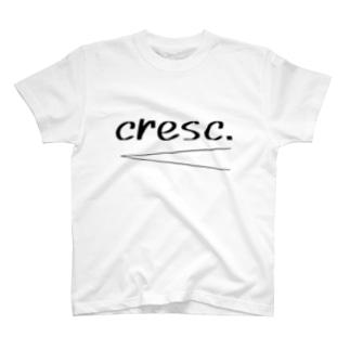 crescendo T-shirts
