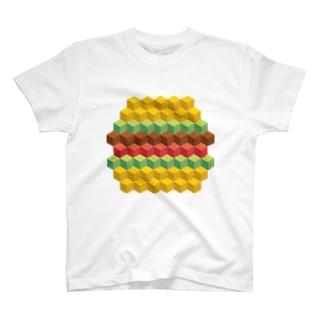 キュービィハンバーガー T-shirts