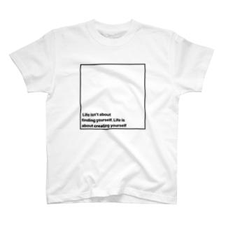 スクエア ロゴ Tシャツ T-shirts