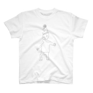 5歳のダイスケの落書き Tシャツ
