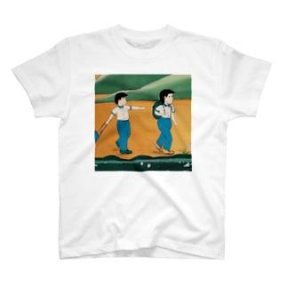 ここらへん T-shirts