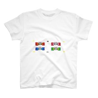 ハートチョウチョ T-shirts