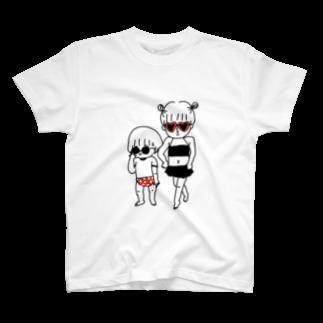 こいしさんのふたりサマー T-shirts