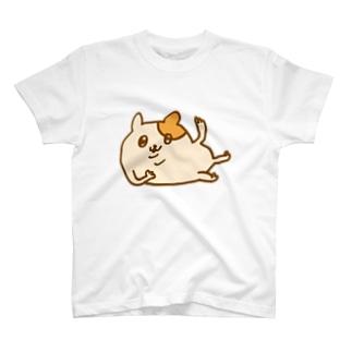 ねころびハムちゃん(カラー) T-shirts