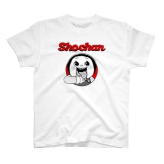 しょーちゃん じゅるり Red Black T-shirts