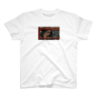 I miss you | black letter T-shirts