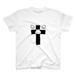 天界うさぎT T-shirts