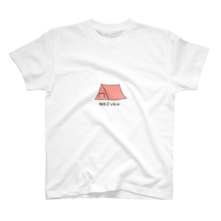 nojuku(赤) T-shirts