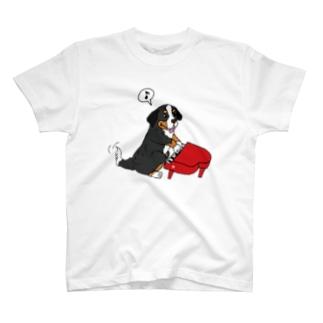 動物シリーズ:バーニーズ T-shirts
