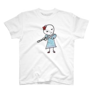 フルート T-shirts