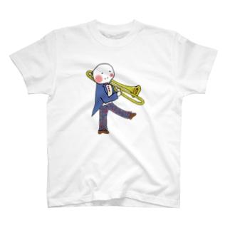 トロンボーン T-shirts