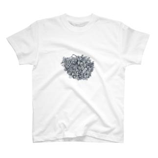 枯れたあじさい T-shirts