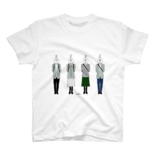 私服とうさぎ T-shirts